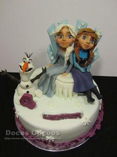 Doces Opções: A Leonor teve um aniversário Frozen