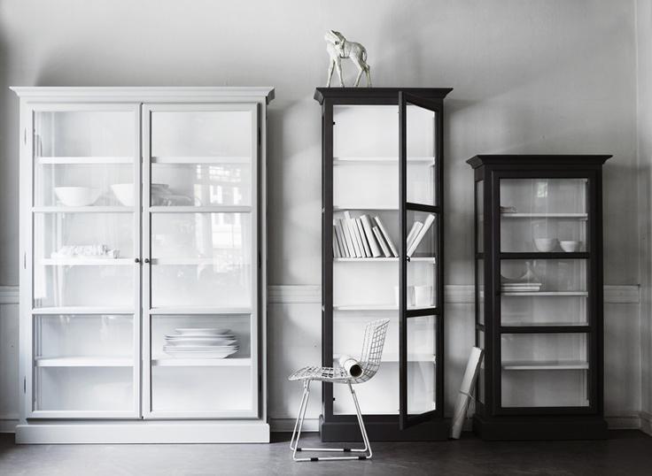 Lindebjerg Design vitrineskabe