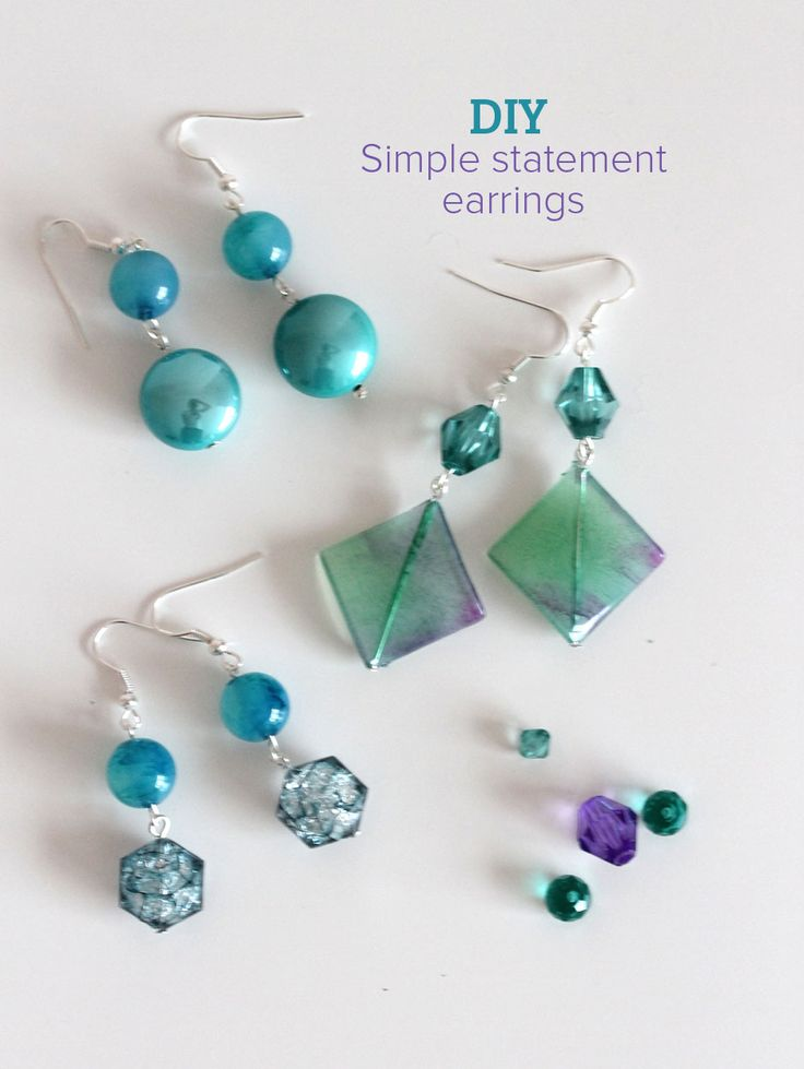 tutorial style jewelry darice trapeze diy earrings