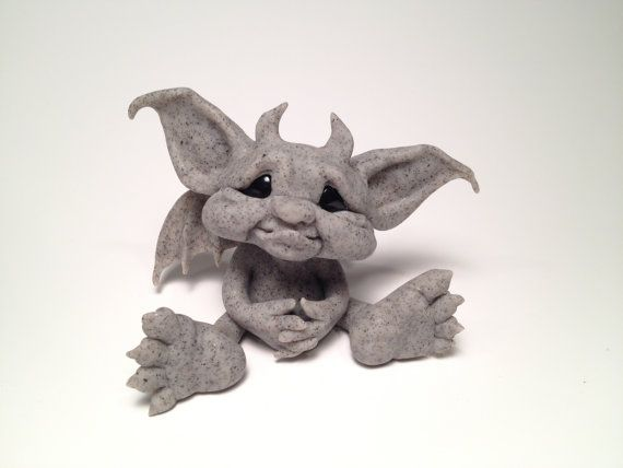 ~*Baby Gargoyle*~ Art Dolls by Patricia Hedegaard This ...