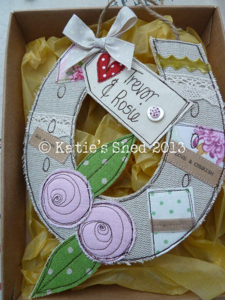 Personalised Wedding Horseshoe Gift : medium personalised cards personalised gifts personalised wedding ...