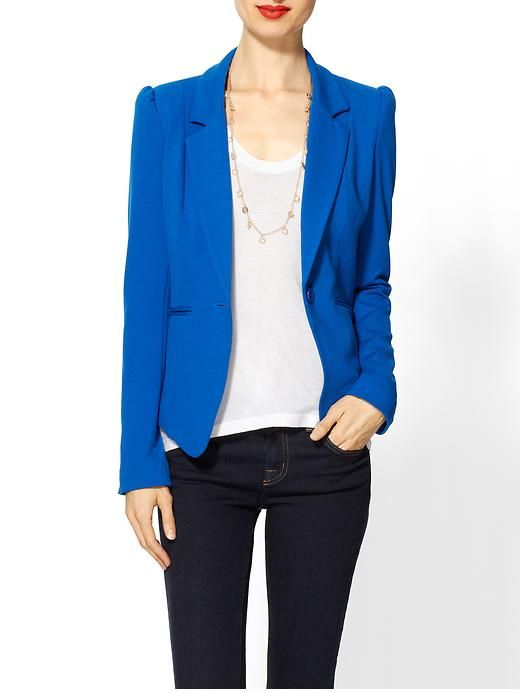 Tinley's Road Bleecker blazer is the comfiest I've ever found!: Roads Bleecker, Color, Cobalt Blue, Comfiest Blazers, Outfit, Blue Blazers, Bleecker Blazers, Tinley Roads, Clothing Fashion
