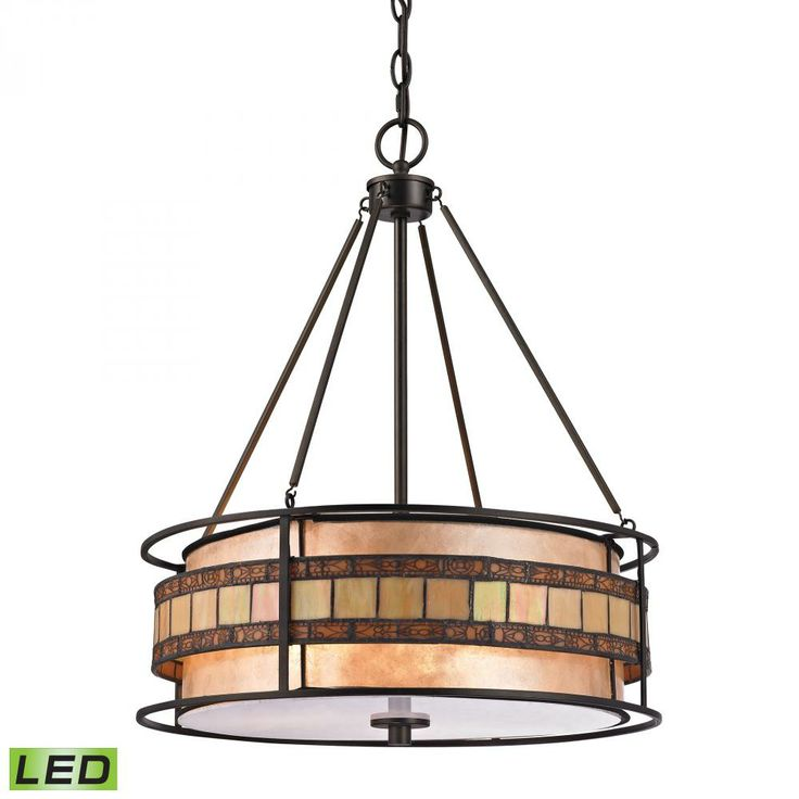 ELK Lighting Annondale 3 Light Pendant in Tiffany Bronze photo19 best Capiz Shells   MATERIAL images on Pinterest   Chandeliers  . Elk Lighting Catalog. Home Design Ideas