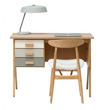 """Bureau vintage années 50 """"Théodore"""" #rienacirer #meublevintage #vintage #annees50"""