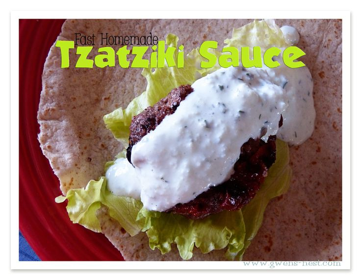 Tzatziki Sauce (S, E or FP) Choose low fat yogurt to make this an E or Fuel Pull friendly recipe.