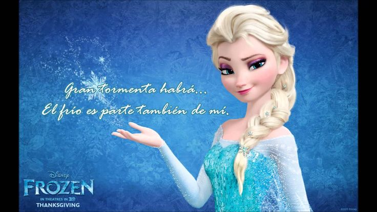 Libre soy - Frozen Letra (Carmen Sarahí)