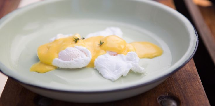 Poached Eggs with Hollandaise sauce by Team Mix Masala #breakfast #recipe #ultimatebraaimaster
