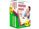 Filme Instantâneo Fujifilm Instax Pack 20 Unidades - para Fuji Instax Mini 7S e Instax Mini 8