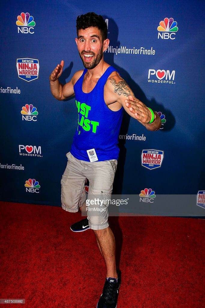 Competitor James McGrath attends the NBC's 'American Ninja Warrior' season 7 finale preview screening held at The Autry National Center on September 9, 2015 in Los Angeles, California.