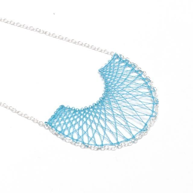 Sm. Ella in silver via Inlace Jewelry. Click on the image to see more!