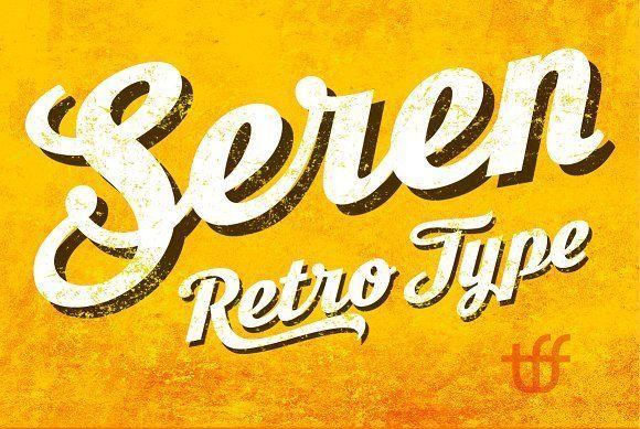 Seren Script by TypeFaith Fonts on @creativemarket