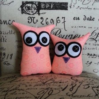 MiniMe Sets – Fluro Pink Owls from www.separ8.com/shop