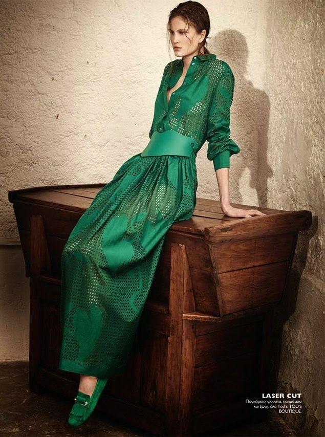Model @ Daria Osipova, Milena Zuchowicz By Thanassis Krikis For Madame Figaro Greece, April 2015