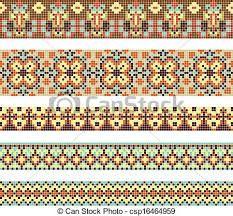 Resultado de imagen para patrones de bordados punto de cruz