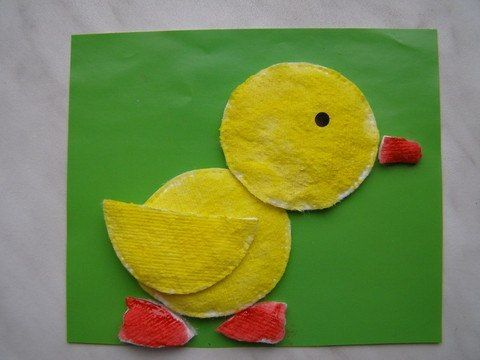 Creative Kids Craft Ideas with Cotton Pads | www.FabArtDIY.com