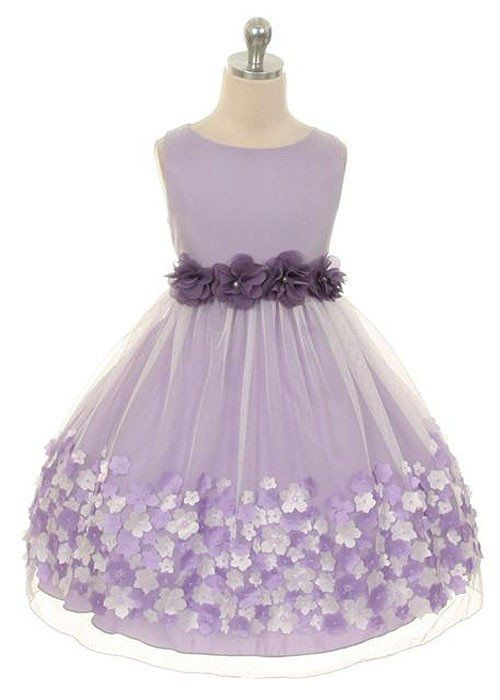 This beautiful mesh dress is full of girly goodness and perfect for Easter or Flower Girl Dress. This picture perfect look is designed with a classic bodice and scooped neckline with a waistline adorn                                                                                                                                                                                 More