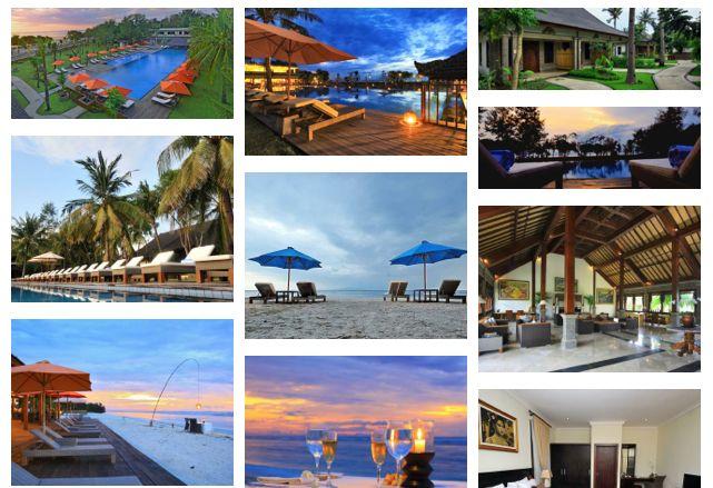 Hotel Ombak Sunset Lombok, Indonesia.