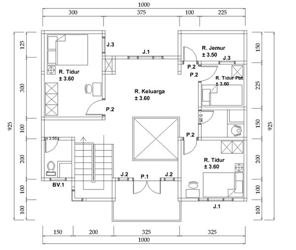 8 best house plan images on pinterest blueprints for homes house home design and ideas arsitektur sipil konstruksi interior rumah adat tip trik blogger malvernweather Choice Image
