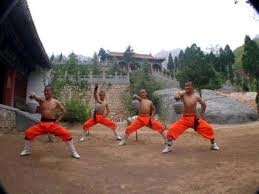 Learn Kung-Fu with my boys at Shaolin Temple, China