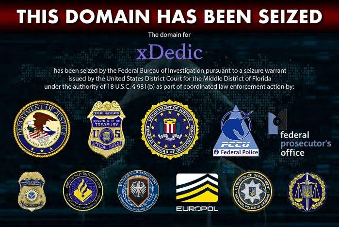 Xdedic Servers Domains Seized By European Law Enforcement