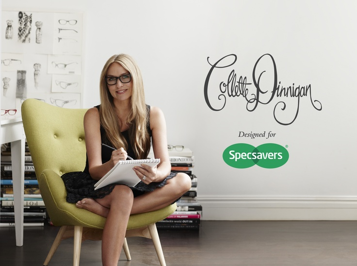 Just announced Collette Dinnigan launching an exclusive new range with Specsavers