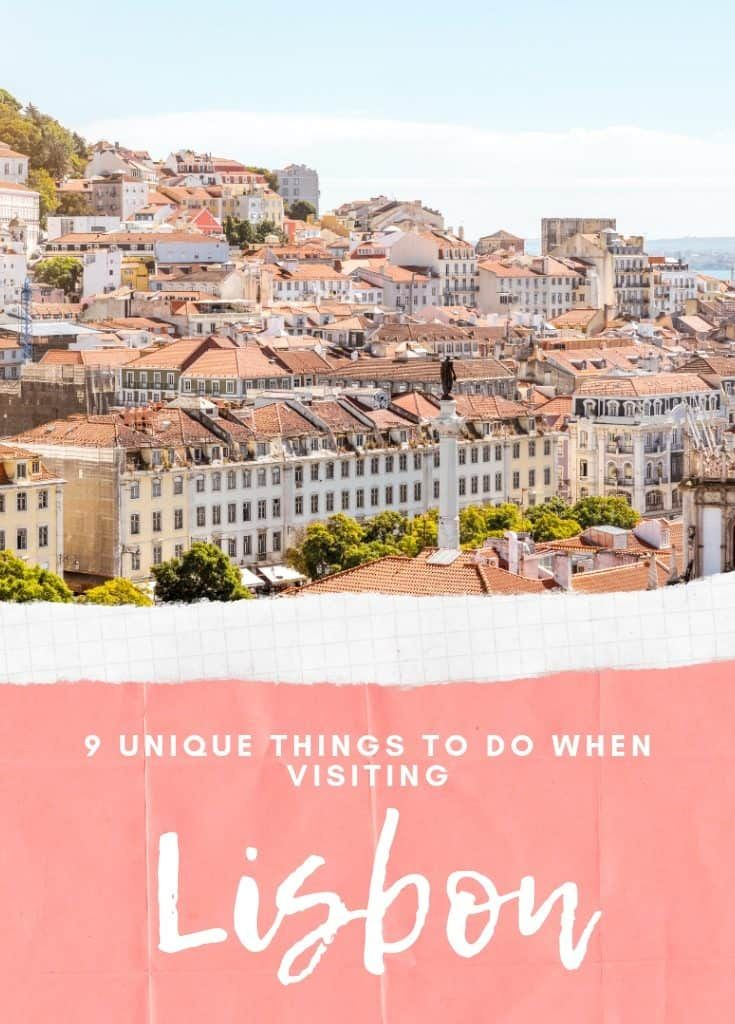 9 cose uniche da fare a Lisbona, in Portogallo