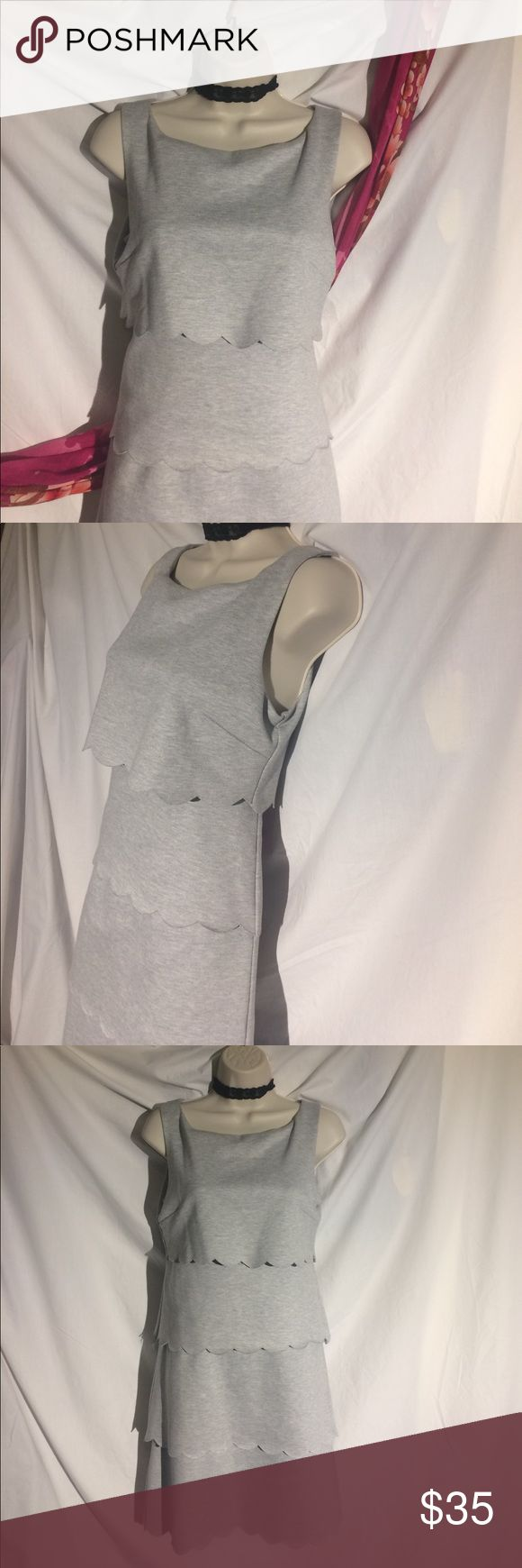 NWOT philosophy dress! Gorgeous Gorgeous soft heather gray philosophy dress brand-new with tags. In a beautiful light weight wash and wear style this will go from office tonight easily. I couldn't return it but it'll look great on you! Philosophy Dresses Midi