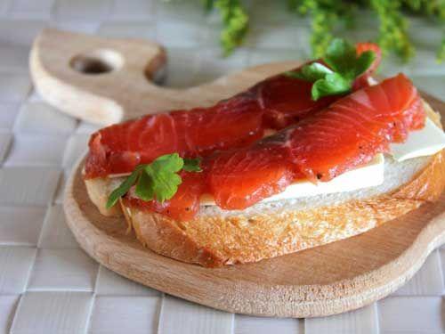 Маринованный лосось | Женский Рай