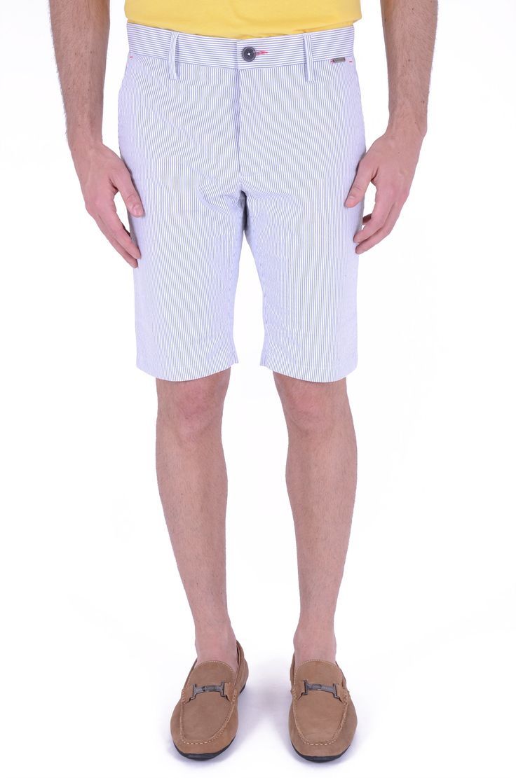 MURRAY CELESTE WHITE SHORT PANTS