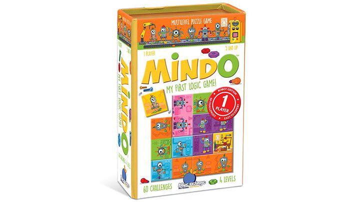 Mindo Robot 2020 Oyun Kartlar Gorev Karti