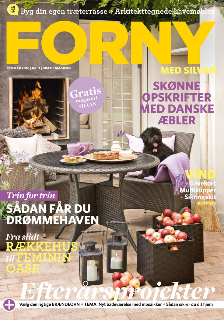 FORNY med Silvan, magasin nummer 3, efterår 2010