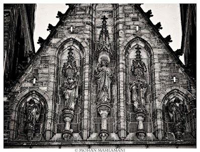 Church in Prague .. #photography #bw #prague