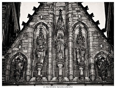 Church in Prague .. #photography #bw #prague