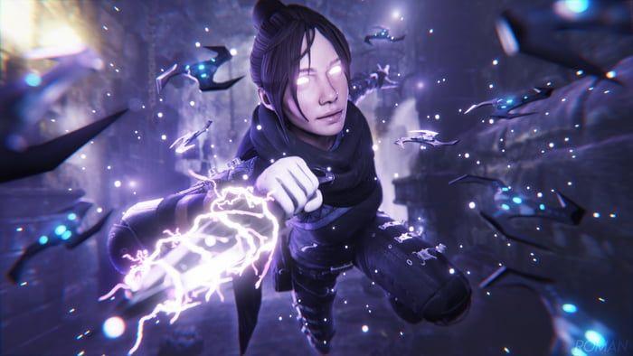 Wraith Apex Legends Wallpaper 4k In 2020 Apex Rainbow Six Siege Art Legend