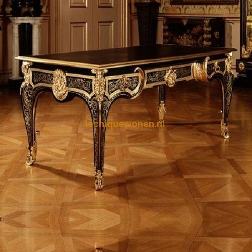 Barok Bureau Napoleon Empire Boulle black gold | Le Chique Wonen