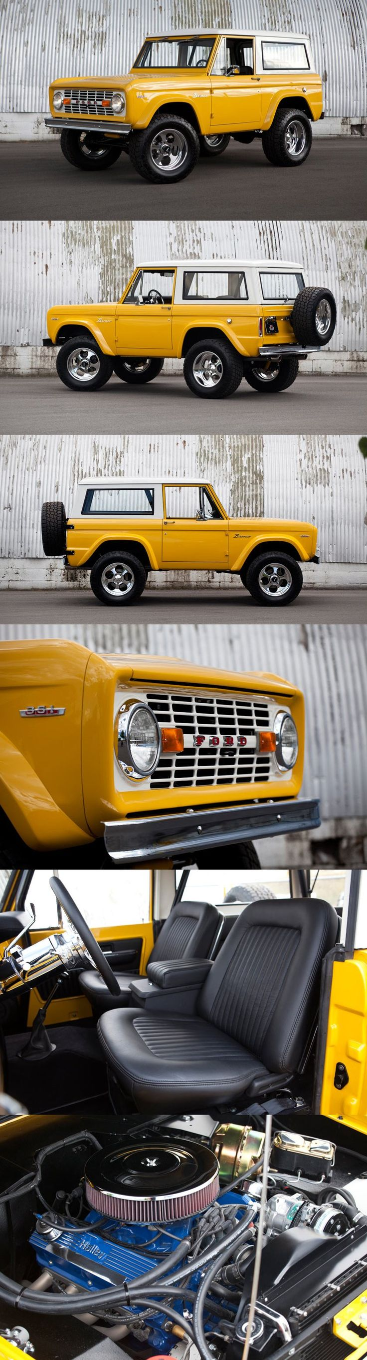 1968 Ford Bronco by Kindig It Design | WANT WANT WANT WANT!!!!