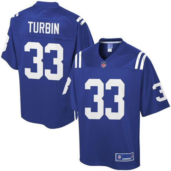Robert Turbin Indianapolis Colts NFL Pro Line Player Jersey - Royal - $99.99 https://www.fanprint.com/licenses/indianpolis-colts?ref=5750