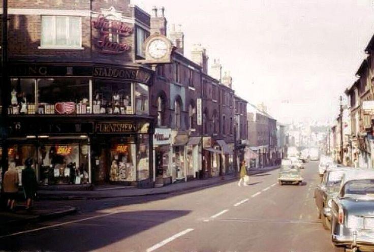 Radford Road, Hyson Green, Nottingham, 1966.