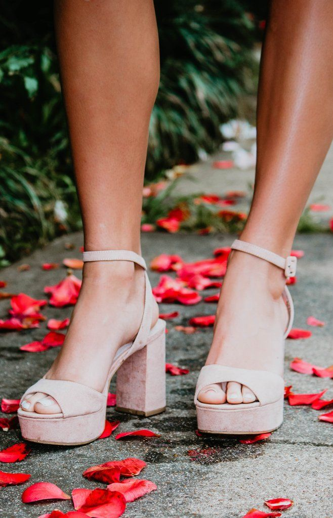 8fe63c81e43 Chinese Laundry : Theresa Platform Sandal - Dark Nude in 2019 | New ...