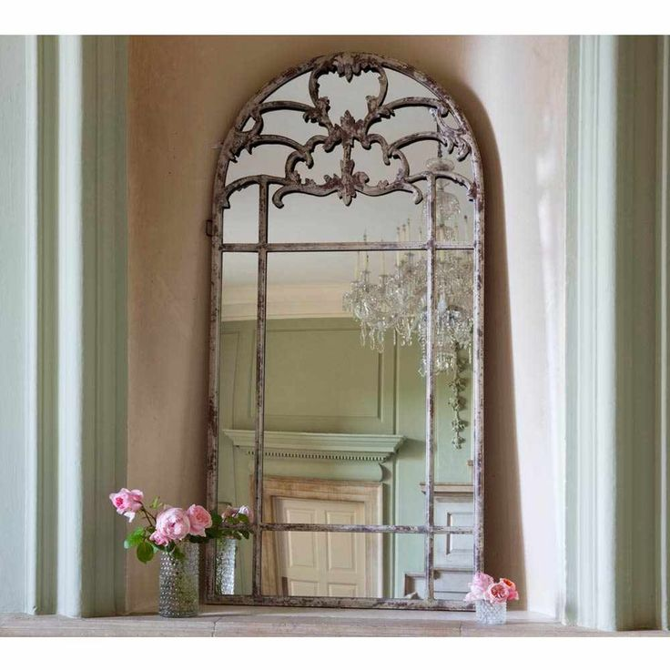 Stone Effect Mirror - French Bedroom Mirror