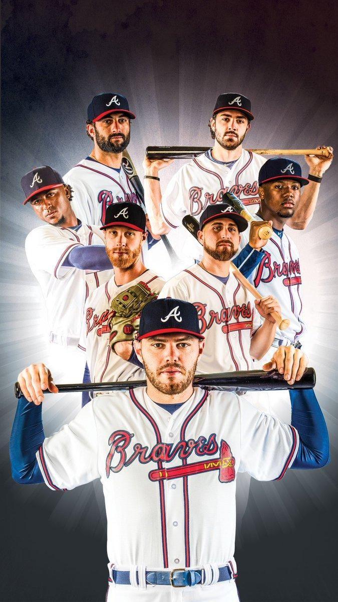 Atlanta Braves Wallpaper 2019 In 2020 Atlanta Braves Wallpaper Atlanta Braves Baseball Atlanta Braves