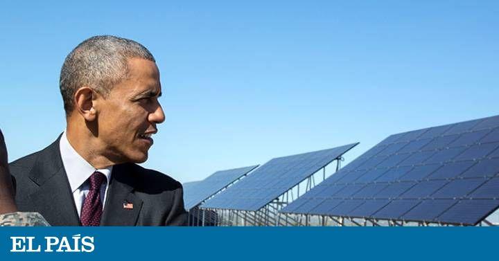 El presidente de EE UU escribe en revistas científicas para pedir a su sucesor que apueste por las energías limpias y que mantenga su reforma sanitaria