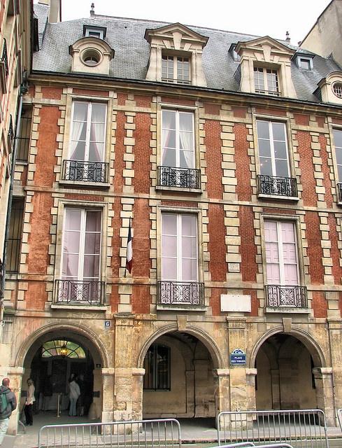 Place des Vosges - Maison de Victor Hugo