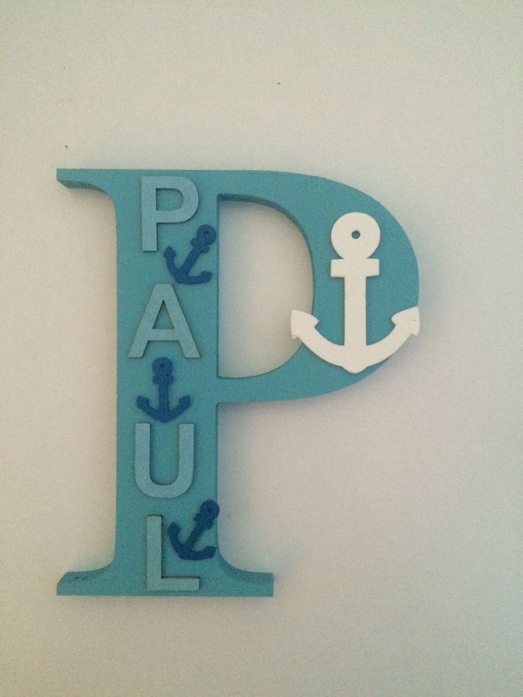 Personalised Wooden letters. Perfect for Nurseries, children's rooms and gifts