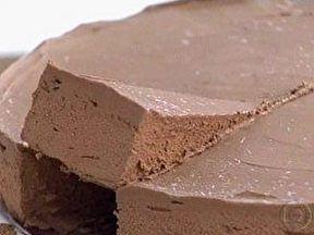 Doce Preguiça (torta de Chocolate) - Foto de Mais Você na TV