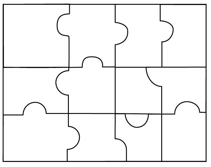 Puzzle Piece Template Puzzle Pieces My Art To Qzaeeeee | aplg-planetariums.org