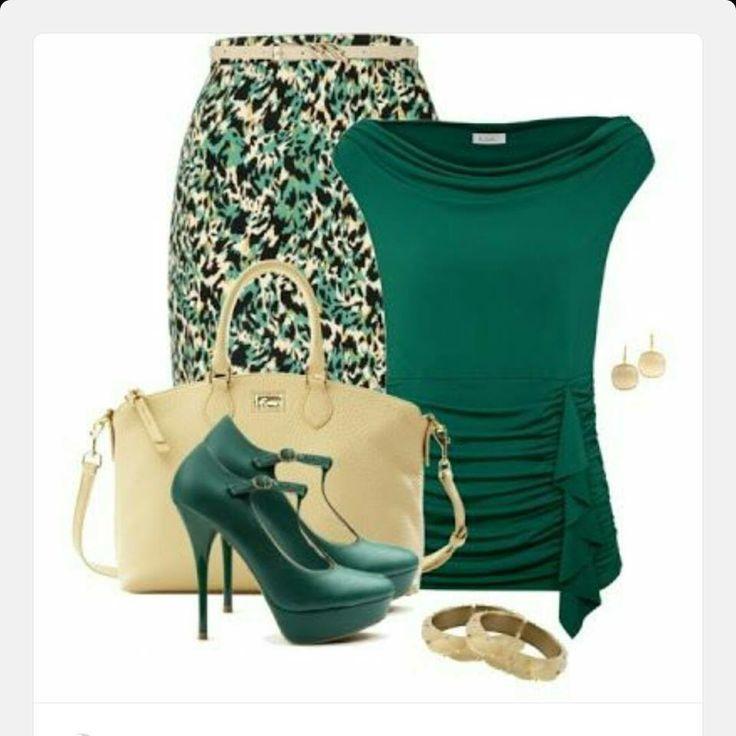 Verde & Crema ~ Me encanta❗❗❗❗❗❤❤❤❤❤