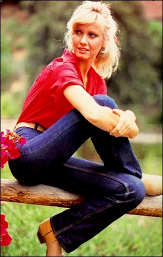 """olivia newton-john...love her in """"Grease"""" and one of many songs, """"Let's Get Physical""""<3"""