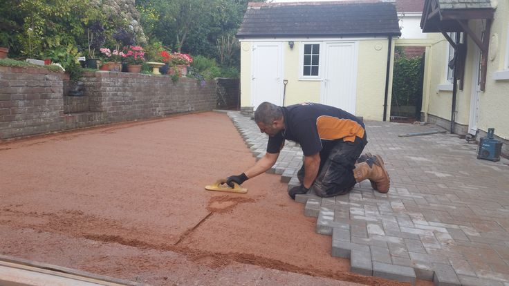 What a finish, well constructed block paved driveways.