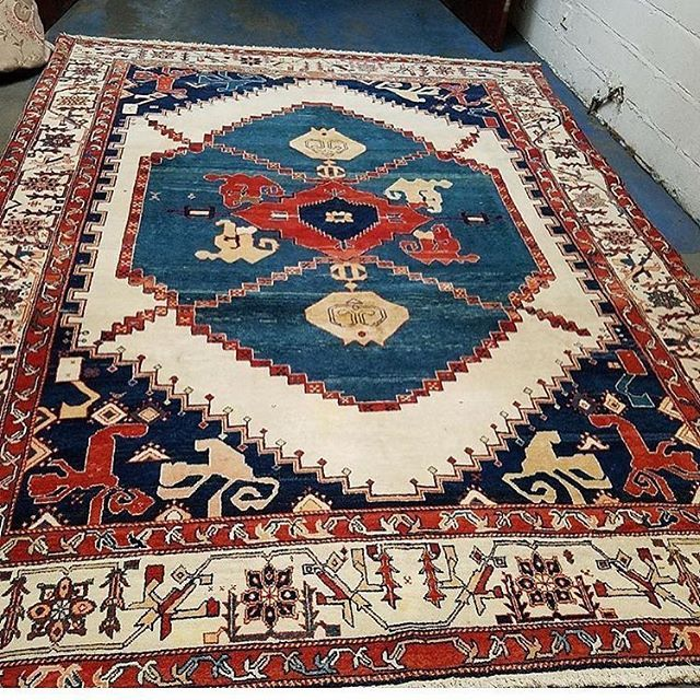 9' x 12' Beautiful  vintage rug for sale for $3298 including shipping!! Personal delivery in the TRI STATE AREA! Payment plans for rugs considered. #hamptons  #bohodecor  #rugs  #boho #bohemian  #vintage #vintagestyle  #rustic #decor  #interiorS #carpets #interiordesigner  #bohochic  #rug  #bohostyle  #bespoke  #tribal  #glamour  #midcentury  #contemporary #luxuryhomes  #thatsdarling  #vintagerug  #luxurydesign - posted by  https://www.instagram.com/hamptons_rugs_ - See more Luxury Real…